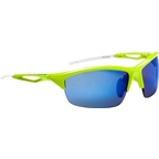 Optic Nerve Vertigo IC Sunglasses: Shiny Green