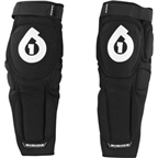 SixSixOne Rage Hard Knee/Shin Pad: Black
