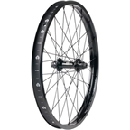 Eclat Front Wheel Trippin Straight Rim With Pulse Front Hub 36h Black