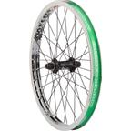 "Odyssey Q1 Front Wheel Chrome Hazard Lite Rim Quartet Front Hub 3/8"""
