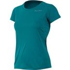 Pearl Izumi Women's Fly Short Sleeve Top: Deep Lake Blue