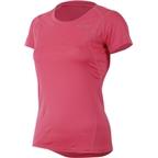 Pearl Izumi Women's Fly Short Sleeve Top: Honeysuckle Pink
