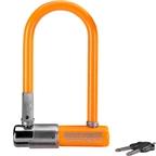 "Krypto series 2 mini-7 U Lock: 3.25 x 7"" Orange"