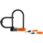 Kryptonite Messenger Mini Plus U-Lock: Black