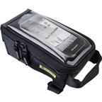 Birzman Navigator III Top Tube/Stem Mounted Phone Bag: Black