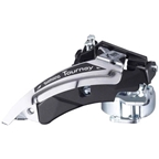 Shimano Tourney TX51 6/7-Speed Triple Top-Swing Dual-Pull Front Derailleur