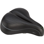 Sportourer Zeta Comfort Gel Flow Saddle: Black
