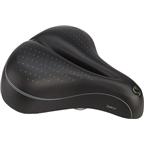 Sportourer Zeta Comfort Gel Flow Saddle: Black
