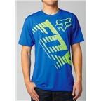 Fox Racing Savant Short Sleeve Tech T-Shirt: Blue