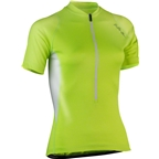 Bellwether Women's Criterium Cycling Jersey: Hi-Vis