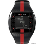 Polar FT7M Heart Rate Monitor: Men's, Black and Red