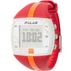 Polar FT7F Heart Rate Monitor: Women's, Red and Orange