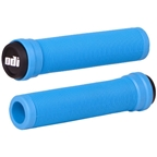 ODI Longneck Soft Compound Flangeless Grips Light Blue