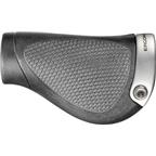 Ergon GP1-L Gripshift Grips Large Black/Gray