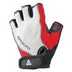 Axiom Zone Deluxe Gel Gloves Women's Red / White