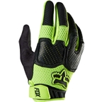 Fox Racing Unabomber Full Finger Glove: Flo Yellow