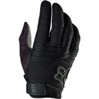 Fox Racing Sidewinder Full Finger Glove: Black