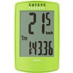 CatEye Padrone Wireless Cycling Computer: Green