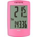 CatEye Padrone Wireless Cycling Computer: Pink