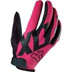 Fox Racing Women's Ripley Full Finger Glove: Pink