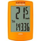 CatEye Padrone Wireless Cycling Computer: Orange