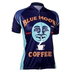 Retro Image Two Blue Moon Coffee Women's Jersey