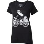 Surly Women's Safety First Long Haul Trucker Martha T-Shirt: Black