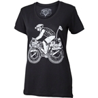 Surly Women's Safety First Long Haul Trucker George T-Shirt:Black