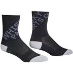 Whisky Parts Co. 5 cuff Logo Sock: Gray~ XL