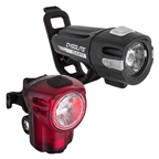 Cygolite Dart 100 Headlight and Hotshot Micro Taillight Set