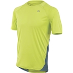 Pearl Izumi Men's Fly Short Sleeve Jersey: Lime/Gray