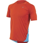 Pearl Izumi Men's Fly Short Sleeve Jersey: Orange/Blue