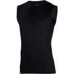 Ibex Men's Woolies 1 Sleeveless Base Layer Top: Black