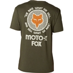 Fox Racing First Race Short Sleeve Premium T-Shirt: Army