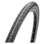 "Maxxis Overdrive Tire 27.5 x 1.65"", Single Compound, Reflective Sidewall, Steel Bead: Black"