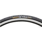 """Continental Ultra Sport II Tire 27 x 1-1/8"""" Steel Bead Black"""
