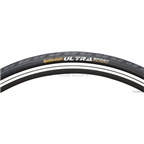 """Continental Ultra Sport II Tire 27 x 1-1/4"""" Steel Bead Black"""