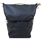 Detours Fremonster Flap Pannier Bag: Black Coated