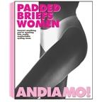 Andiamo Women`s Padded Brief - White