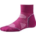Smartwool PhD Cycle Light Mini Women's Sock: Light Berry