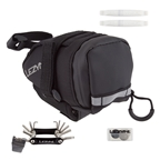 Lezyne M-Caddy Wedge Seat Pack Loaded