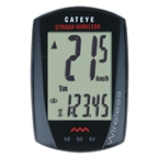 CatEye Strada Wireless RD300W Cycling Computer Black