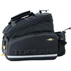 Topeak MTX Trunkbag DX With Waterbottle Holder: Black
