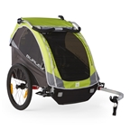 Burley D'Lite Child Carrier - Green