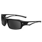 Serfas Scandal Sunglasses, Gloss Black/Grey Lens