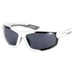 Serfas Portage Sunglasses, White/Grey