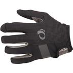 Pearl Izumi Elite Gel Men's Full Finger Glove: Black