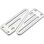 Surly Front Rack Upper Non-Offset Sliding Mounting Plate for Uni-Crown Forks