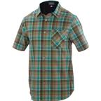Ibex Shralp Men's Short Sleeve Jersey Top: Everglades Green