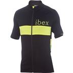 Ibex Spoke Full Zip Men's Jersey Top: Black